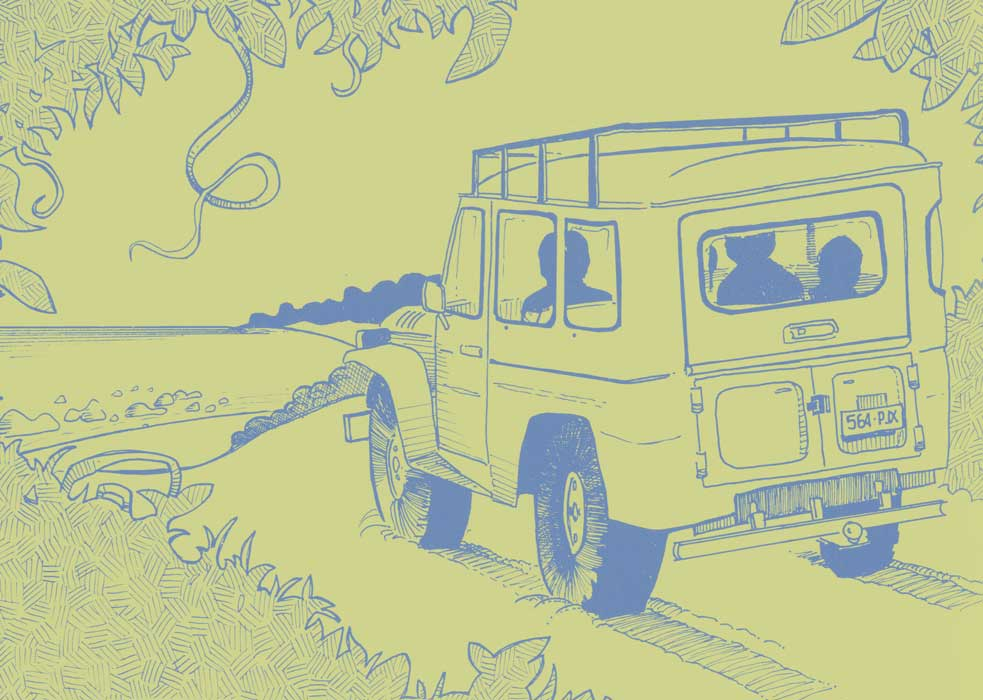 Landrover illustration
