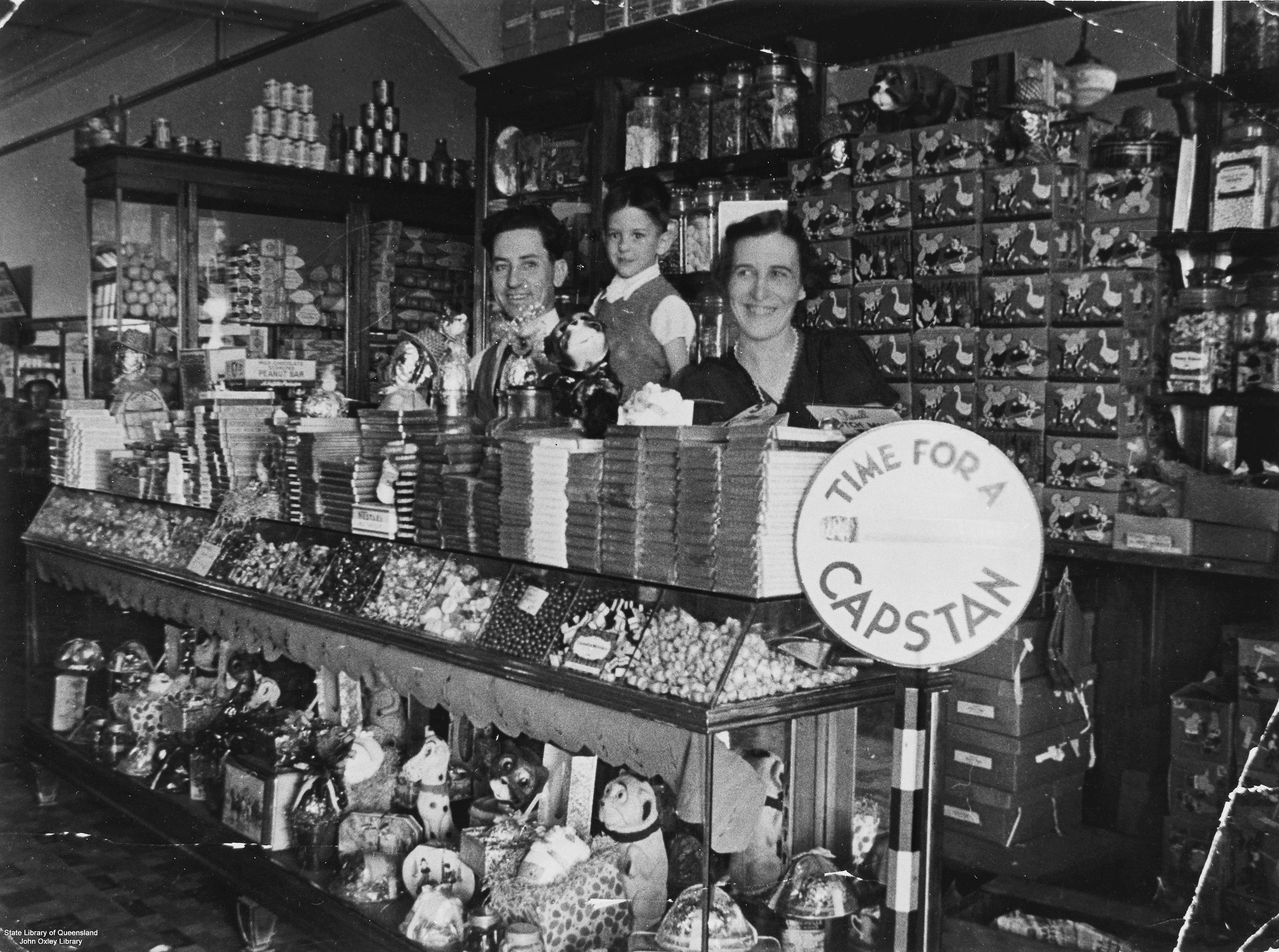 Inside the Paragon Cafe at Dalby Queensland ca 1936 John Oxley Library State Library of Queensland Negative no 41450
