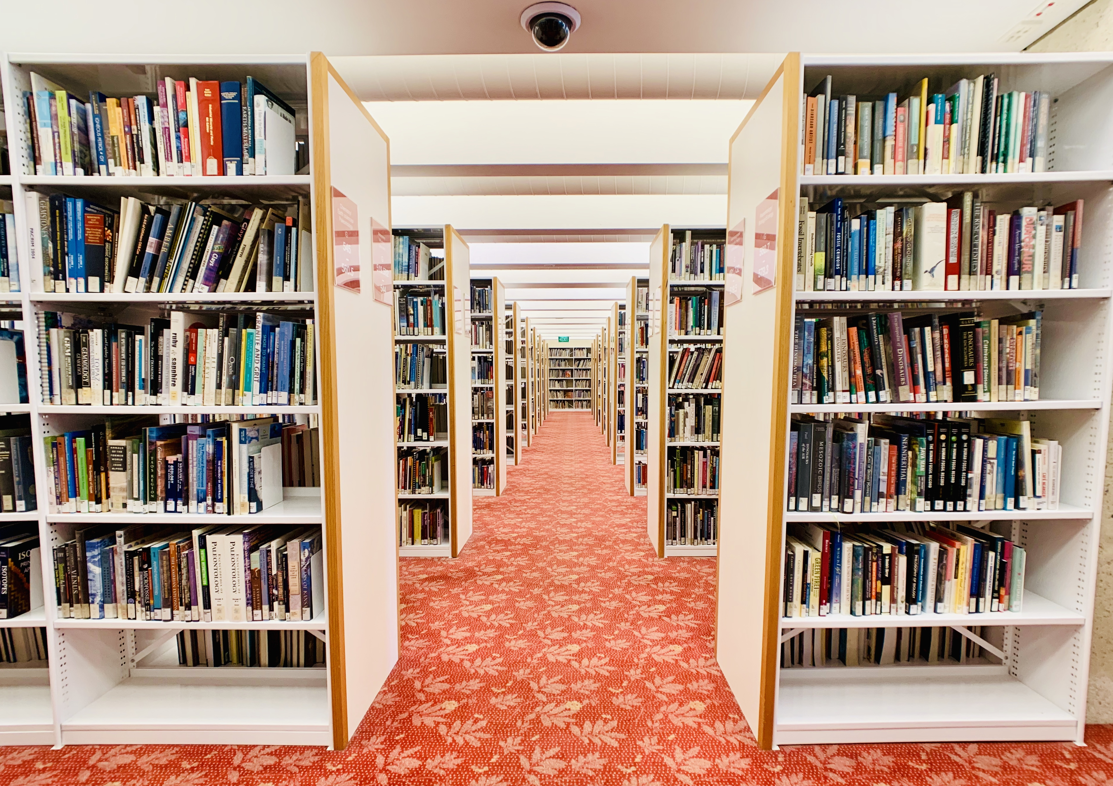 State Library of Queensland shelves