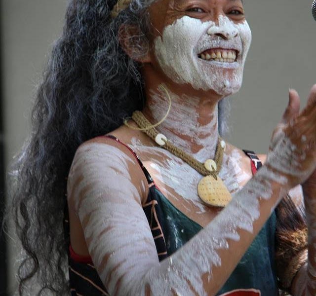 Indigenous contemporary dancer Jeanette Fabila