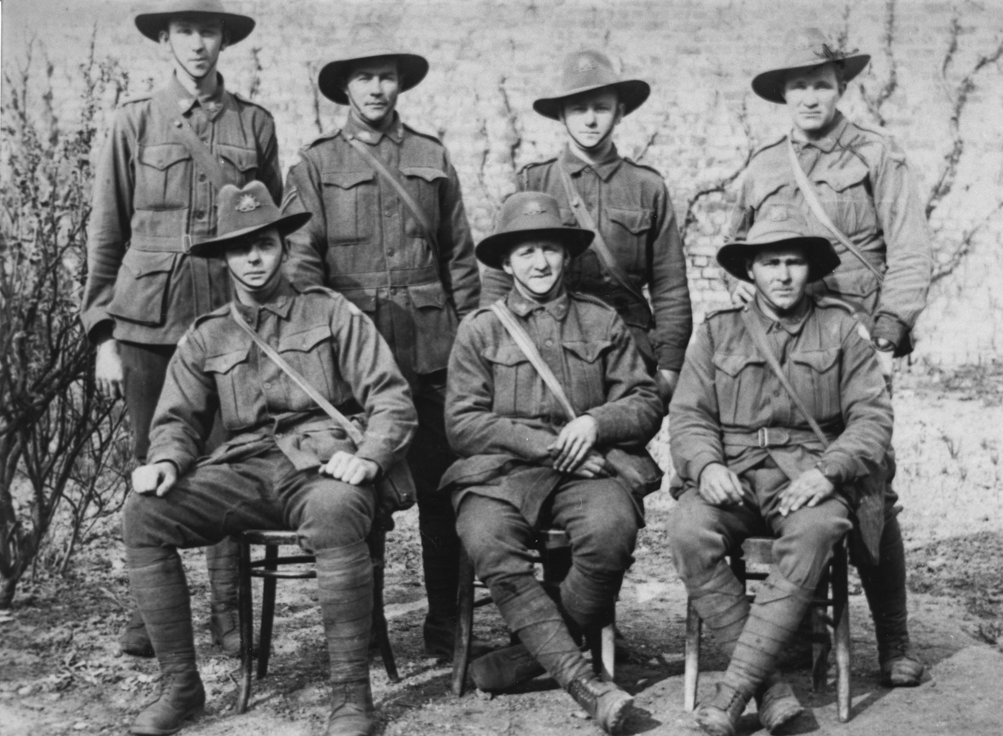 Australian soldiers World War One