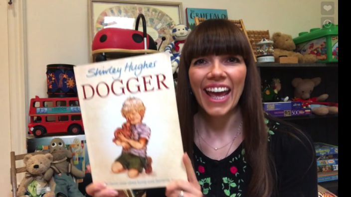 Kate Morton reading Dogger by Shirley Hughes
