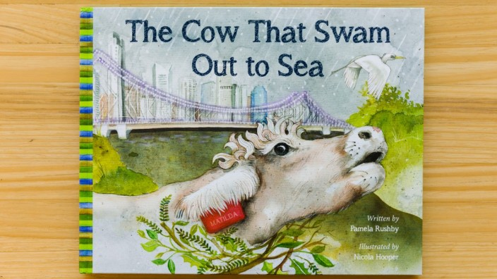 The cow that swam out to sea