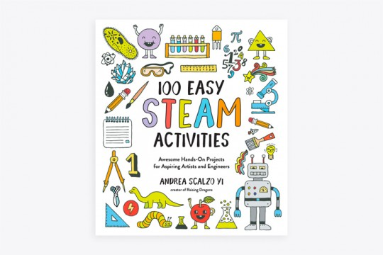 100 Easy STEAM Activities book
