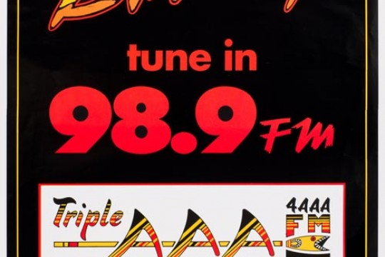 Tune in to 989FM poster