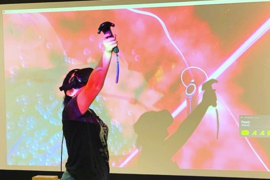 VR  painting at Artiz Innovate at The Edge