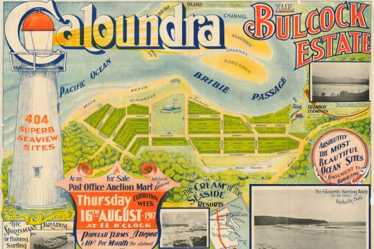 Bulcock Estate advertising Caloundra