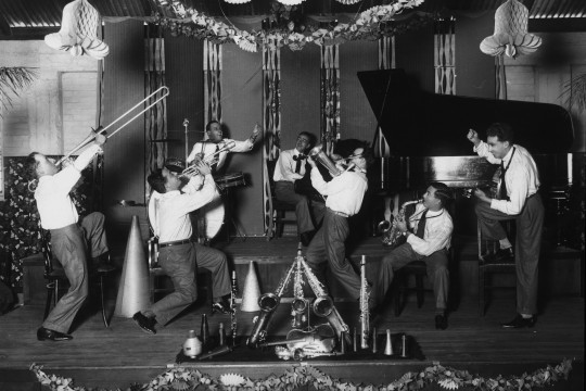 Crystal Palace Orchestra playing in Brisbane ca 1929 John Oxley Library State Library of Queensland Neg 60027