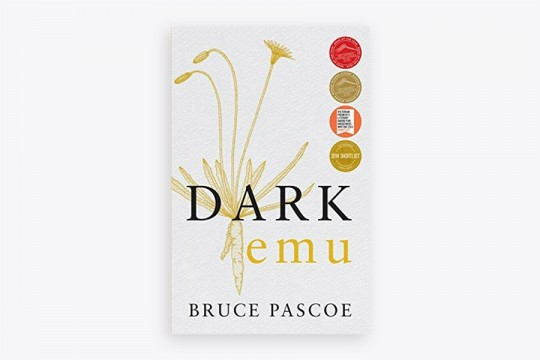 Dark Emu book cover by Bruce Pascoe