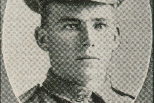 Driver HT Mallyon 13-2 FA one of the soldiers photographed in The Queenslander Pictorial supplement to The Queenslander 1916