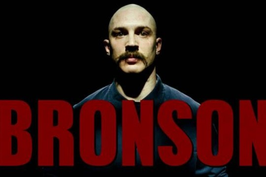 Image from film Bronson directed by Nicholas Winding Refn