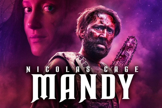 Image taken from fim Mandy directed by Panos Cosmatos