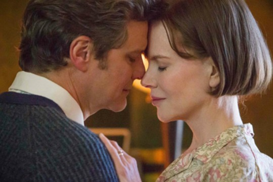Image of Colin Firth and Nicole Kidman taken from film The Railway Man directed by Jonathan Teplitzky