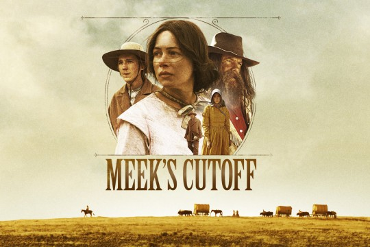 Image from film Meeks Cutoff directed by Kelly Reichardt