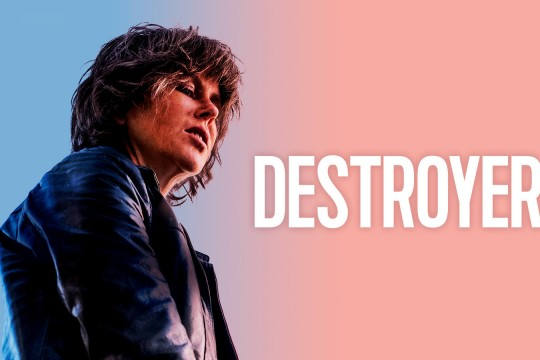 Image from film Destroyer directed by Karyn Kusama
