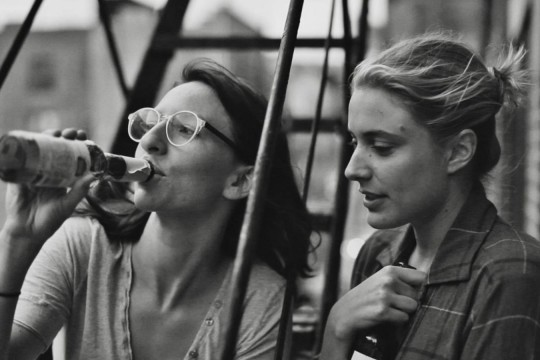 Image from film Frances Ha directed by Noah Baumbach produced by Noah Baumbach Scott Rudin et al streamed by Kanopy database