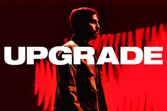 Image from film Upgrade directed by Leigh Whannell produced by Blumhouse Productions et al streamed by Kanopy database