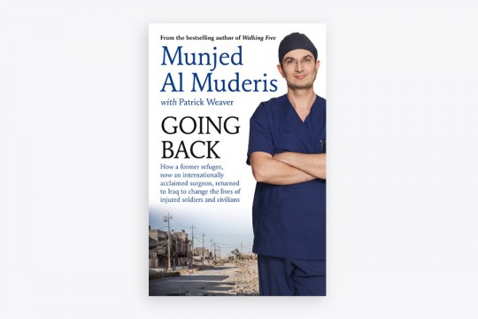 Going Back book cover by Dr Munjed Al Muderis
