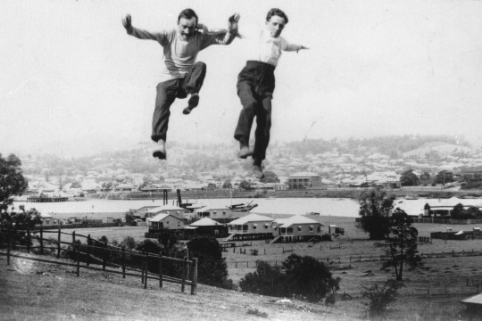 Jumping for joy Bulimba Queensland 1918