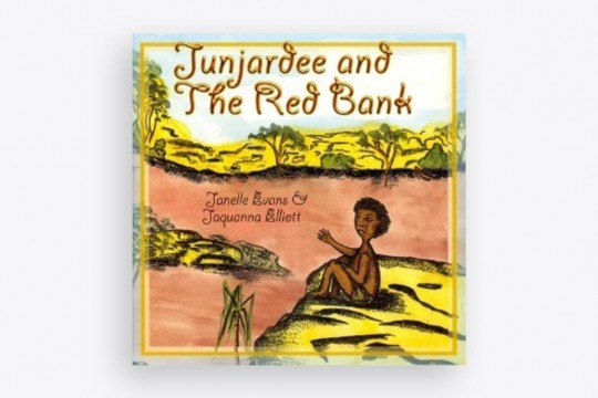 Junjardee and the Red Bank by Janelle Evans and Jaquanna Elliott book cover
