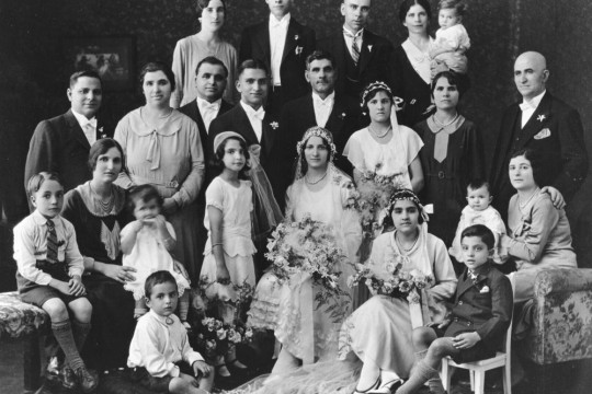 Wedding of Mick Londy in Toowoomba in 1932