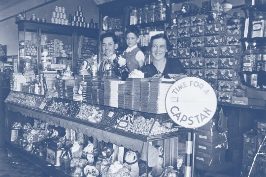 Inside the Paragon Cafe at Dalby Queensland ca 1936