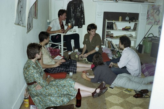 People at a party 1979