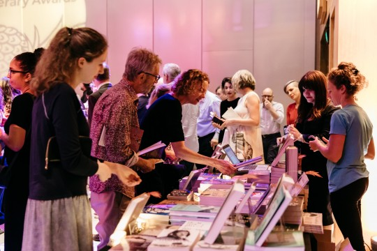 Library Shop stall at Queensland Literary Awards 2019