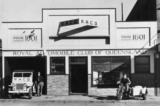 Royal Automobile Club of Queensland building Toowoomba 1950