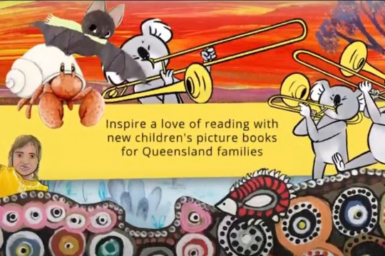 Images from the Stories for Little Queenslanders covers