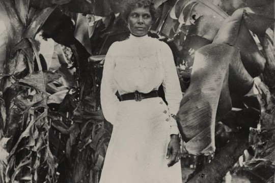 South Sea Islander woman at Farnborough Queensland ca 1895