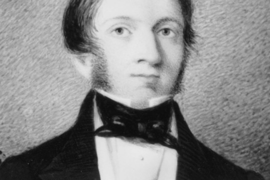 Self portrait of Silvester Diggles ca 1847