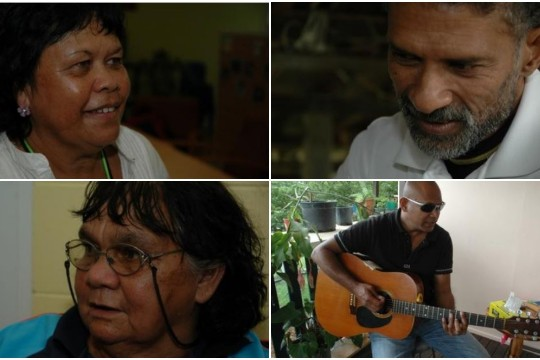 Snapshots of a selection of those interviewed in Cairns Cooktown and Hope Vale for their response to the Prime Ministers Apology to the Aboriginal and Torres Strait Islander people 2009