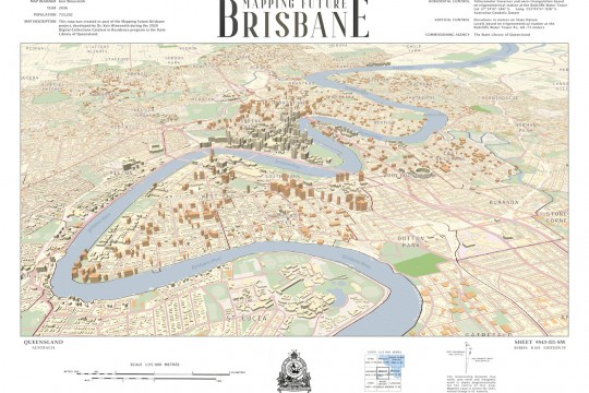 Mapping Future Brisbane - finished map example