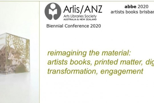ArlisANZ conferfence - Margaret Warrens presentation