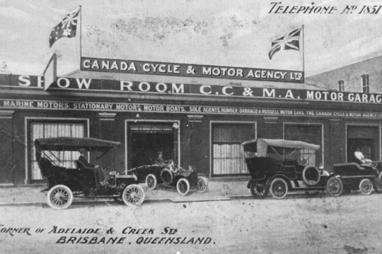 Premises of Canada Cycle and Motor Agency Ltd, Brisbane, Queensland
