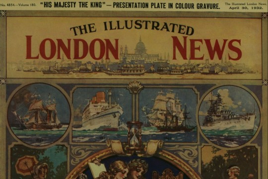 Image of front page of the Illustrated London News 30 April 1932
