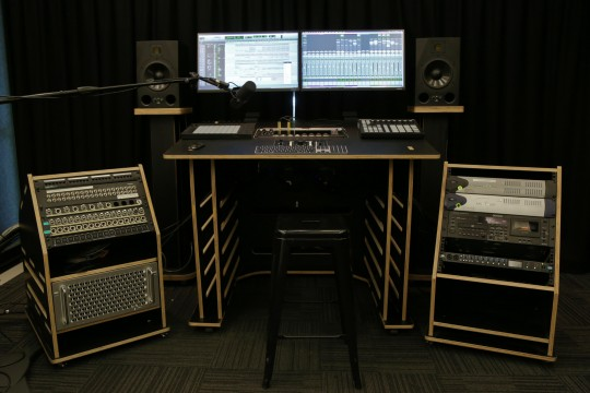 New equipment and furniture in The Edge Recording Studio September 2020