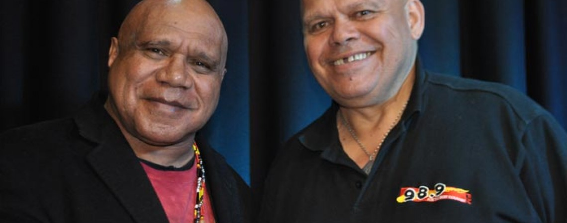 Archie Roach and Tiga Bayles