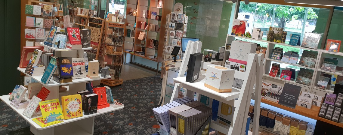 Library Shop entry