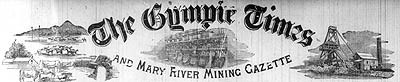 The Gympie Times newspaper banner