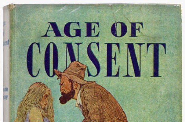 Age of consent1938  Norman Lindsay T Werner Laurie  Australian Library of Art SLQ  MMS ID 992839344702061