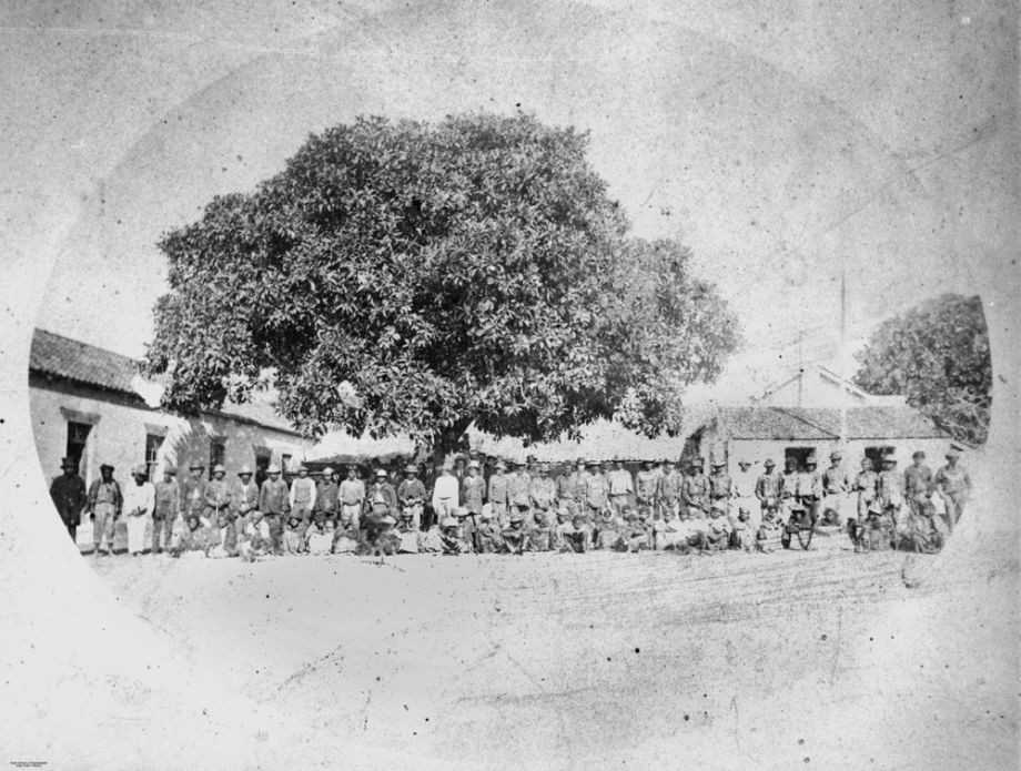 Annual blanket distribution day 25 May 1874