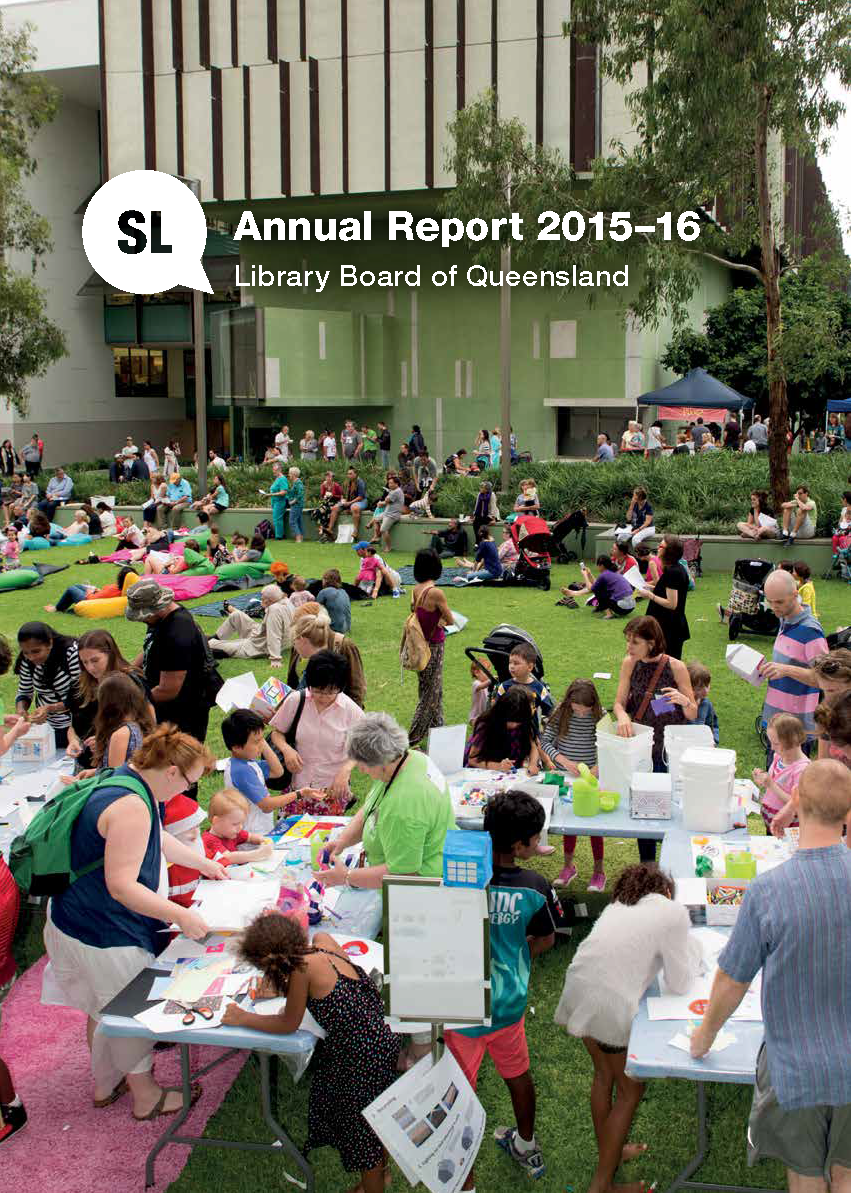 Library Board of Queensland Annual Report 2015-16