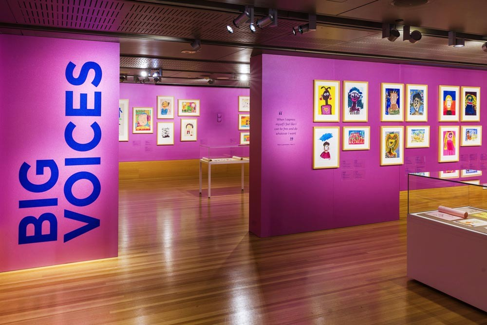 Big Voices exhibition at State Library