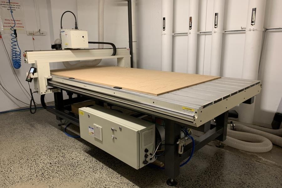 CNC router in the Edge