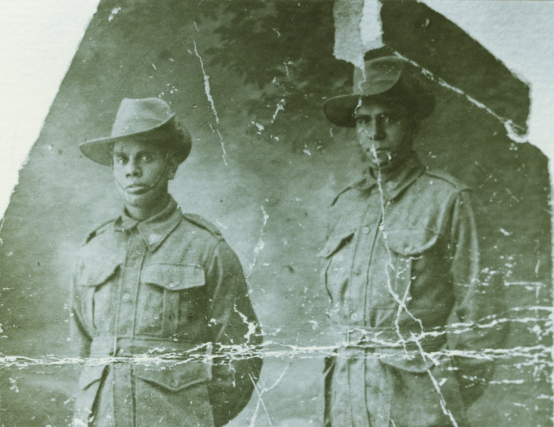 Harry Doyle and Albert Burke Photograph 1917
