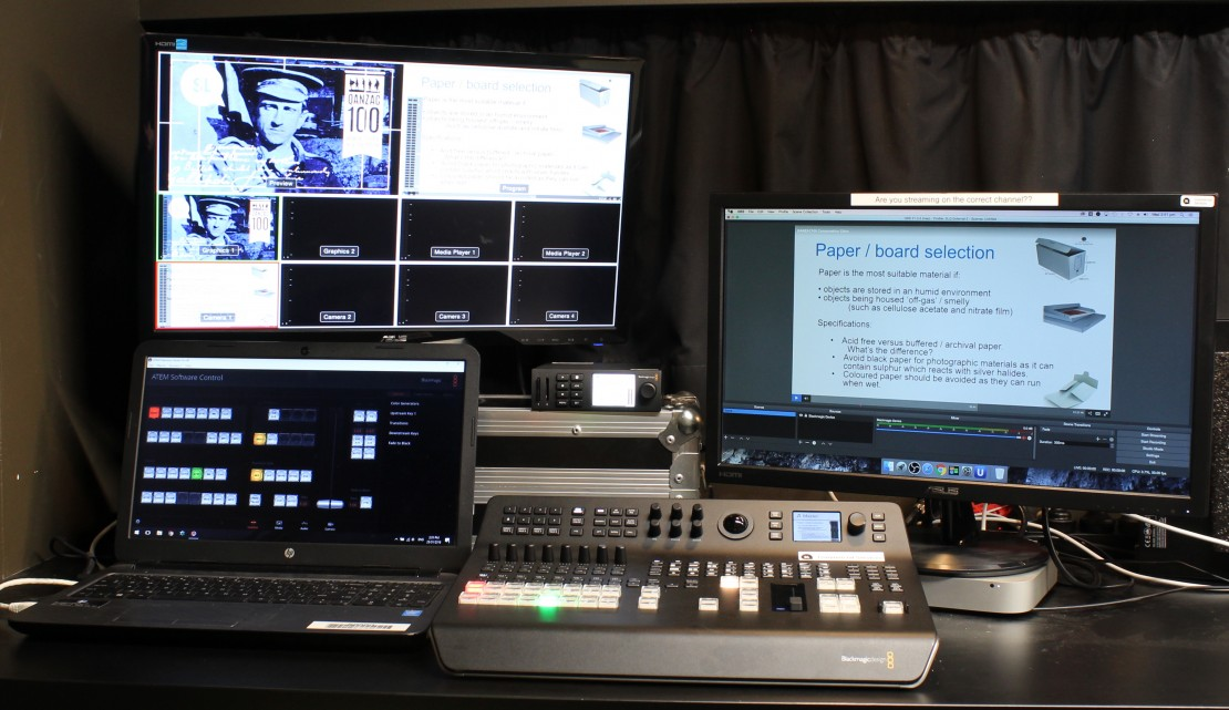 BlackMagic Live streaming equipment