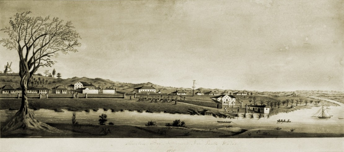 Image of Moreton Bay Settlement New South Wales in 1835