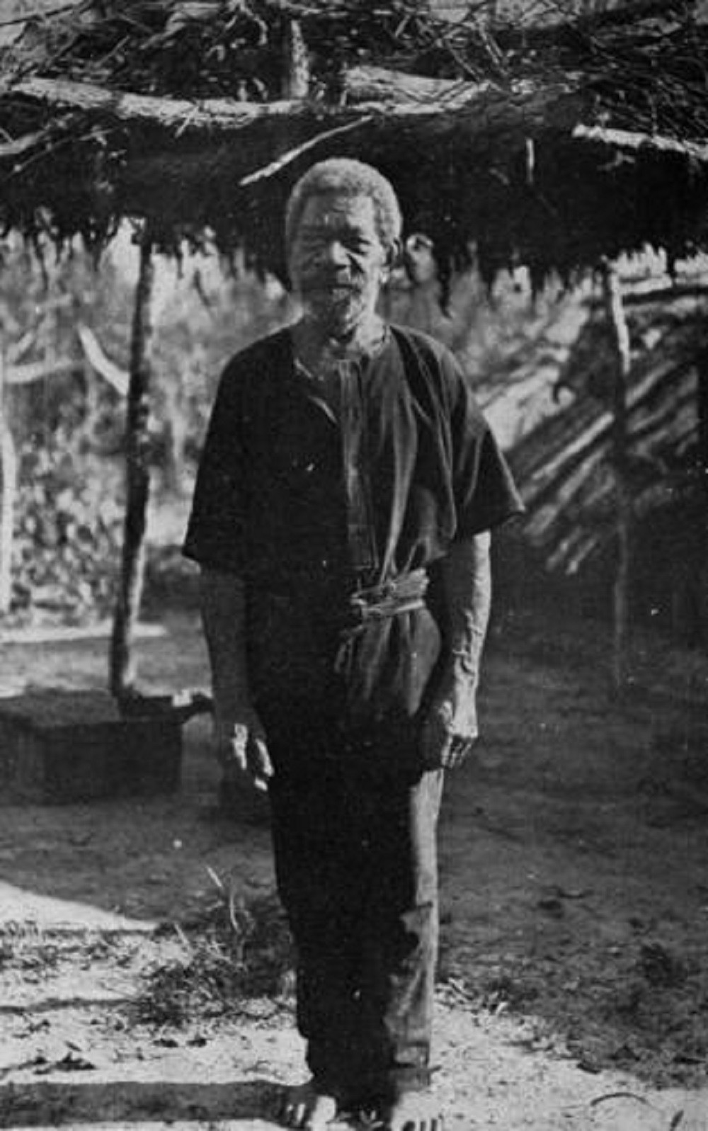 James Keeling an old identity in the Peninsula Cape York 1932 Photographer unknown John Oxley Library State Library of Queensland Negative no 196310